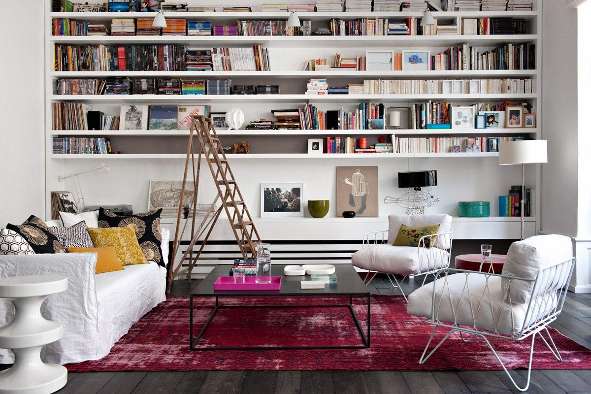 D coration fra che et d complex e dans un appartement for Interieur chic parisien