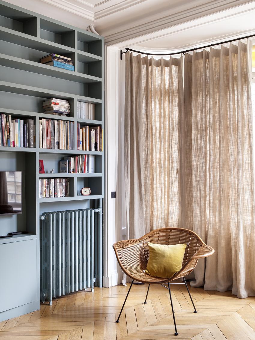 Un appartement haussmannien sublimé par Camille Hermand ...