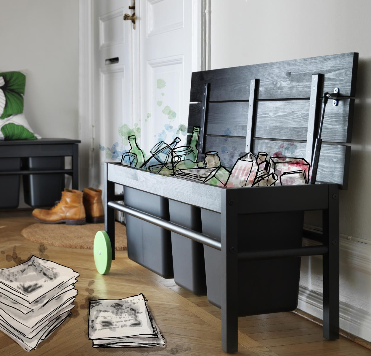 green way of life avec ikea madame d core. Black Bedroom Furniture Sets. Home Design Ideas