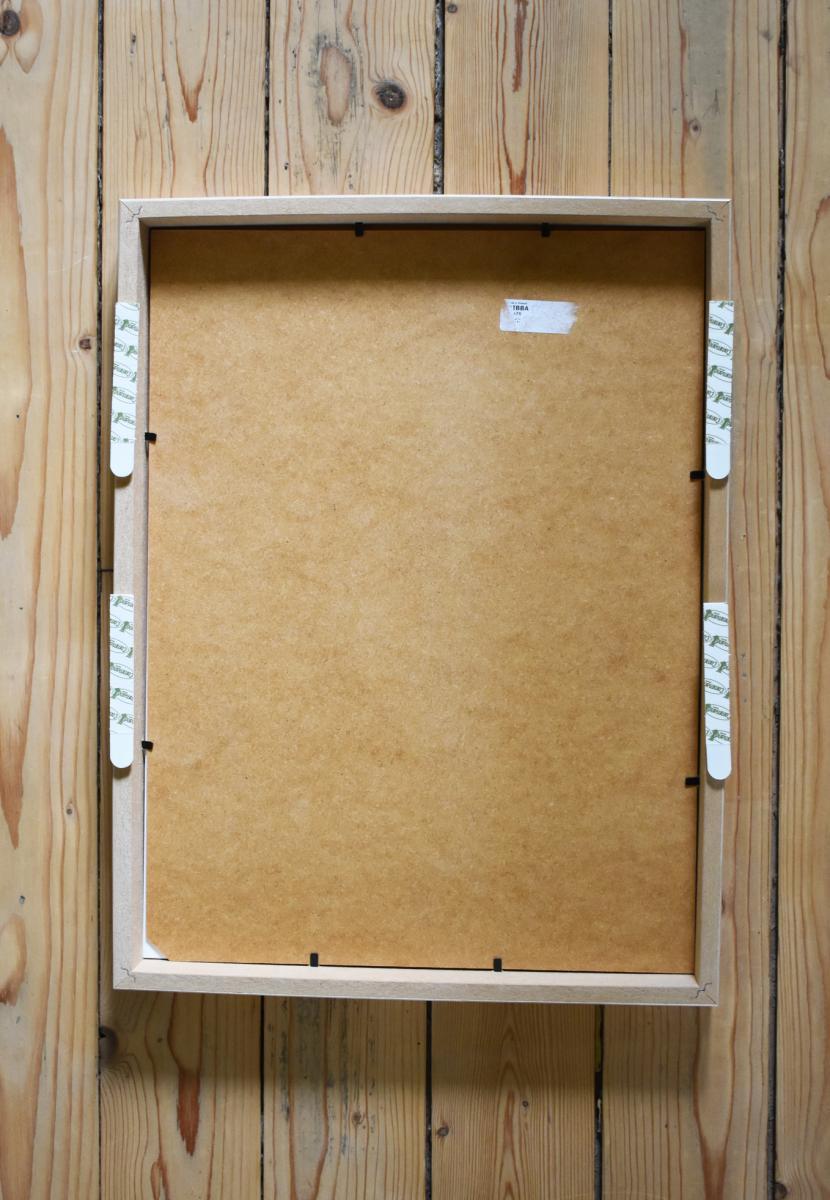 Fixation Tableau Sans Trou diy : créer une galerie de cadres sans percer les murs