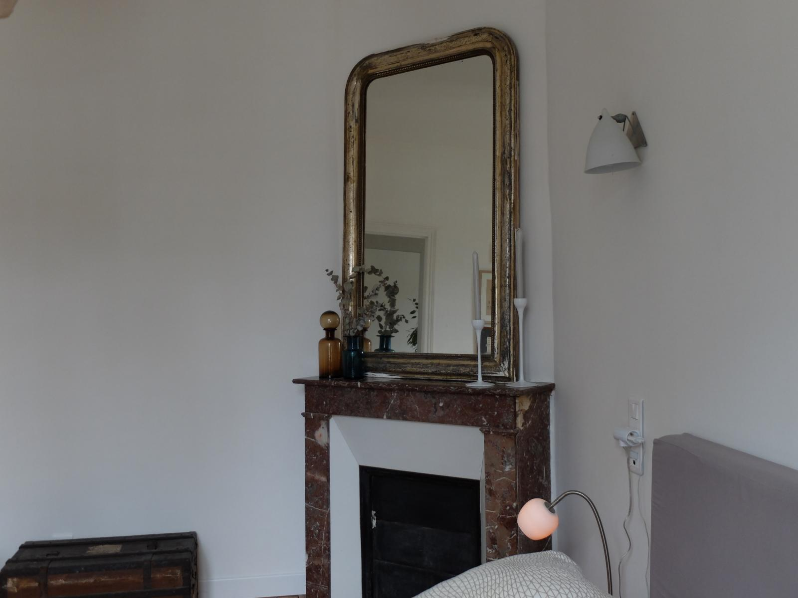 Relooker une cheminee fashion designs - Repeindre une cheminee ...