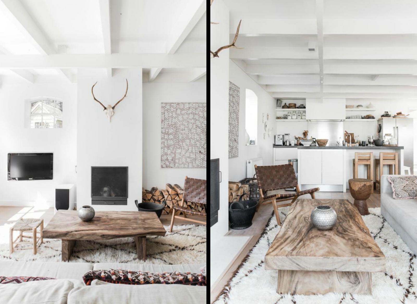 Une maison de famille au style scandinave-rustique | Madame Décore