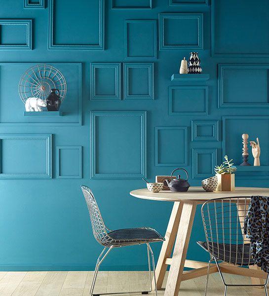 inspiration 25 id es pour une d coration colorblock. Black Bedroom Furniture Sets. Home Design Ideas