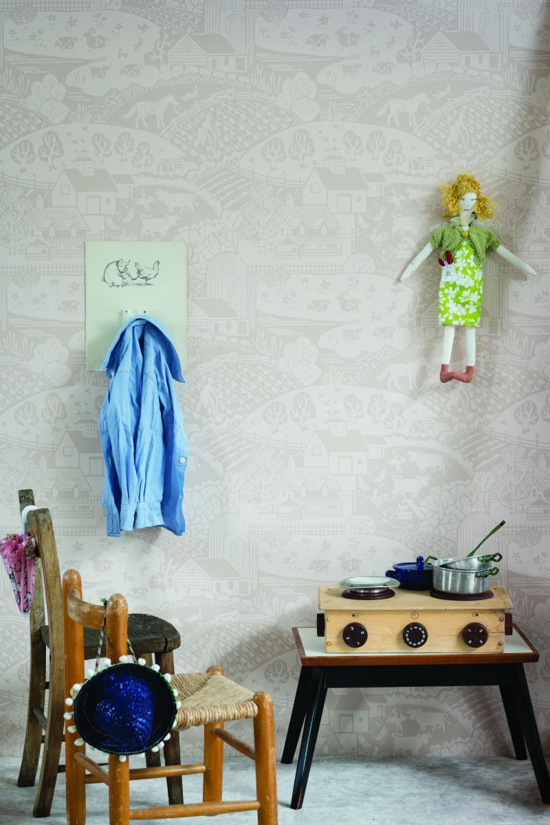farrow ball lance sa nouvelle collection de papiers peints madame d core. Black Bedroom Furniture Sets. Home Design Ideas