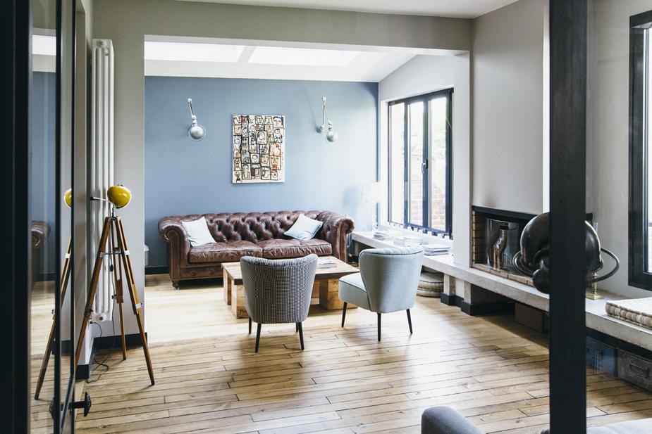 esprit atelier dans une maison des ann es 20 madame d core. Black Bedroom Furniture Sets. Home Design Ideas