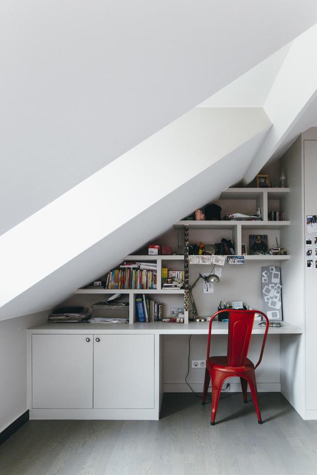 Esprit atelier dans une maison des ann es 20 madame d core - Chambre style atelier ...