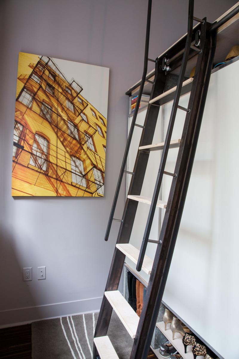 Un loft minuscule san francisco madame d core - Commentaar meubler un loft ...