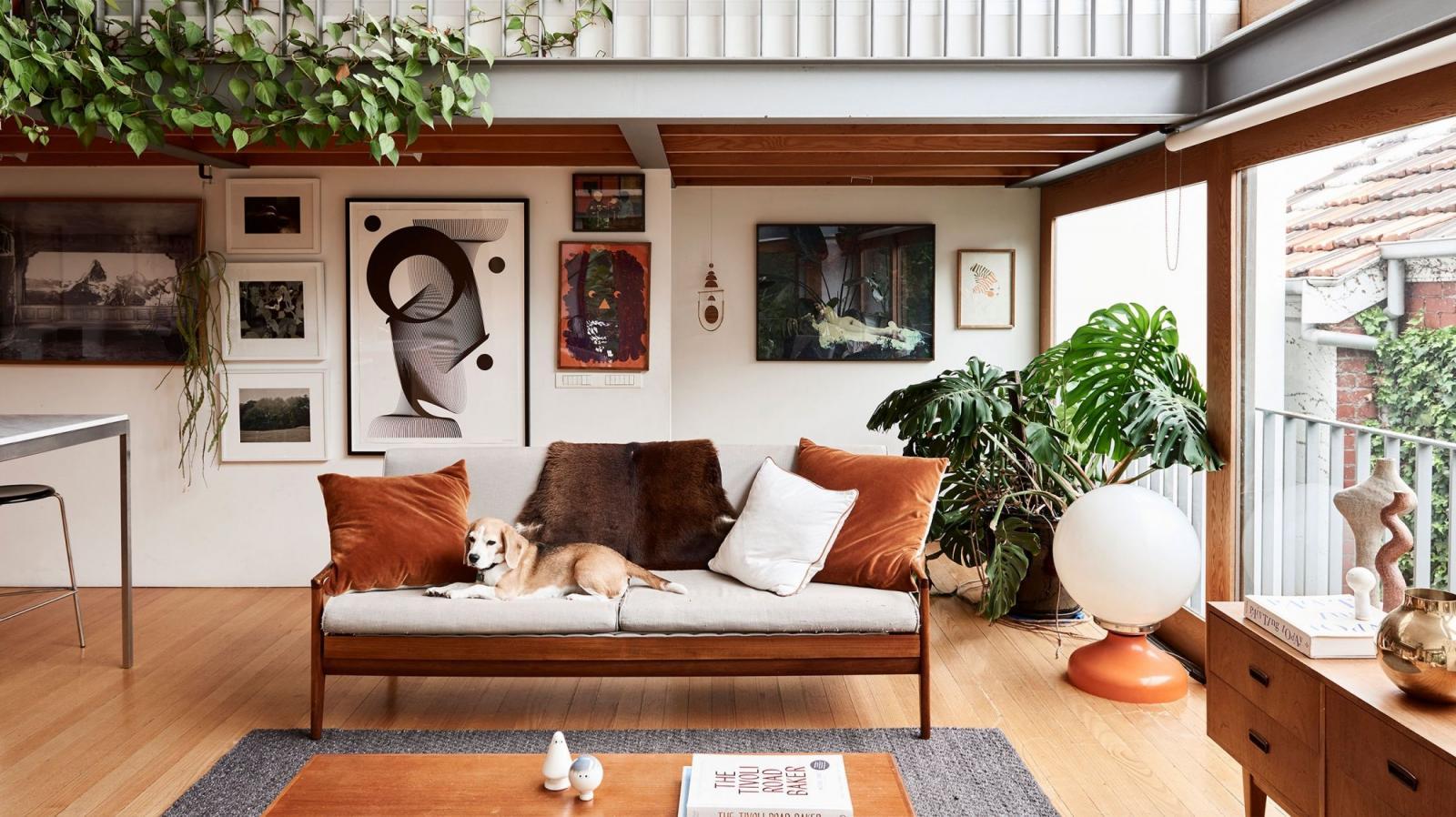 Decoration Interieur Appartement Vintage l'appartement 100% vintage de kelly thompson | madame décore