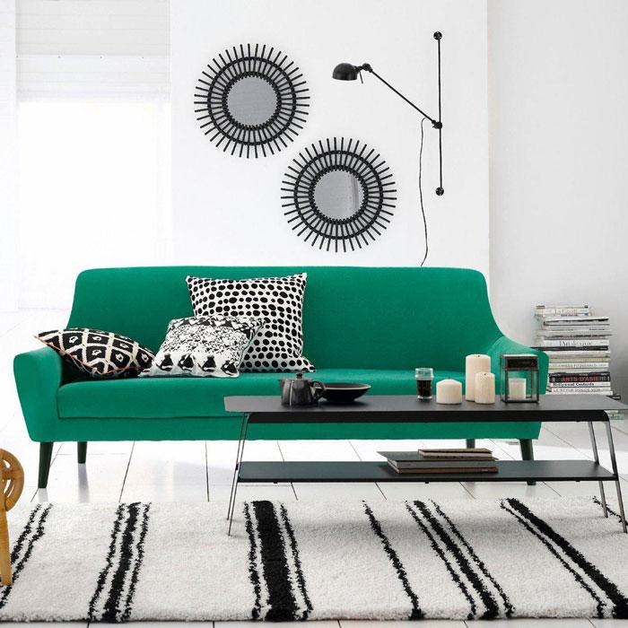 Inspiration Je Veux Un Canape Vert Madame Decore