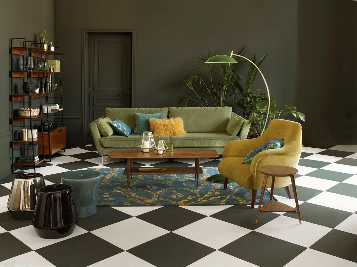 Inspiration : Je veux un canapé vert !  Madame Décore
