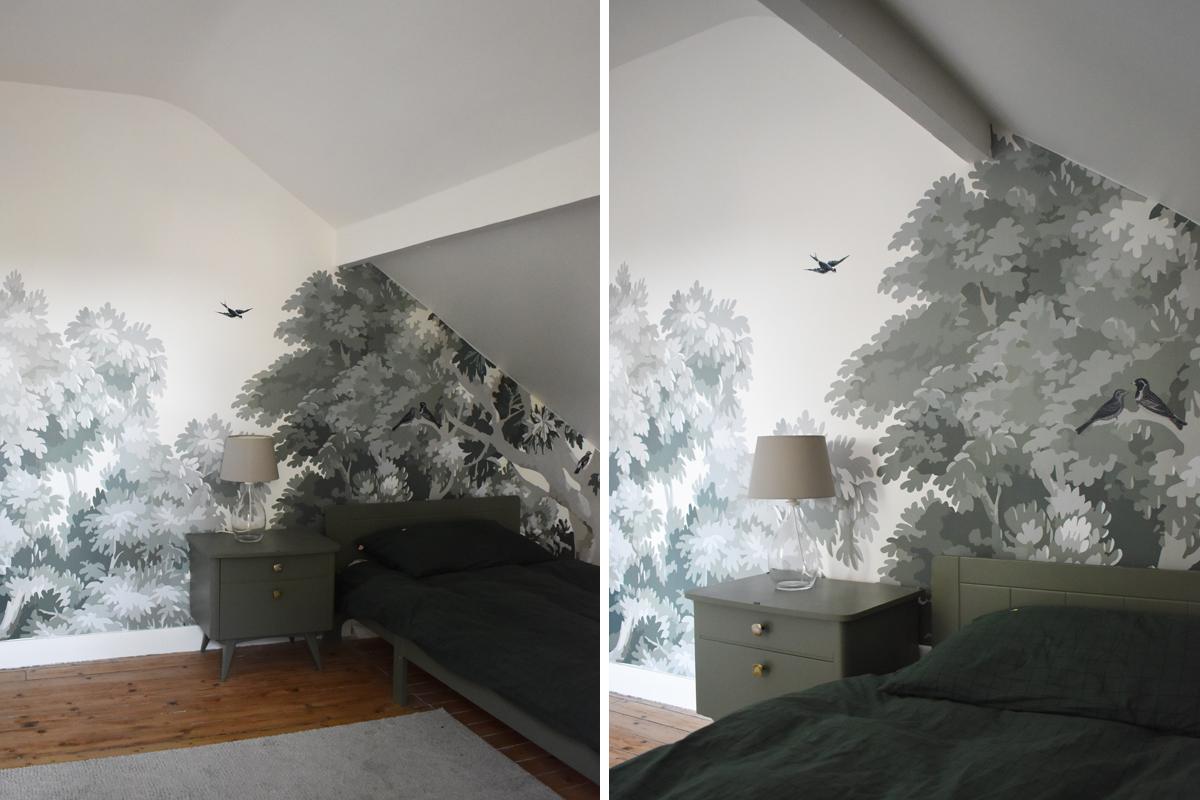 Papier Peint Pour Bureau a la maison : la nouvelle chambre de paul | madame décore