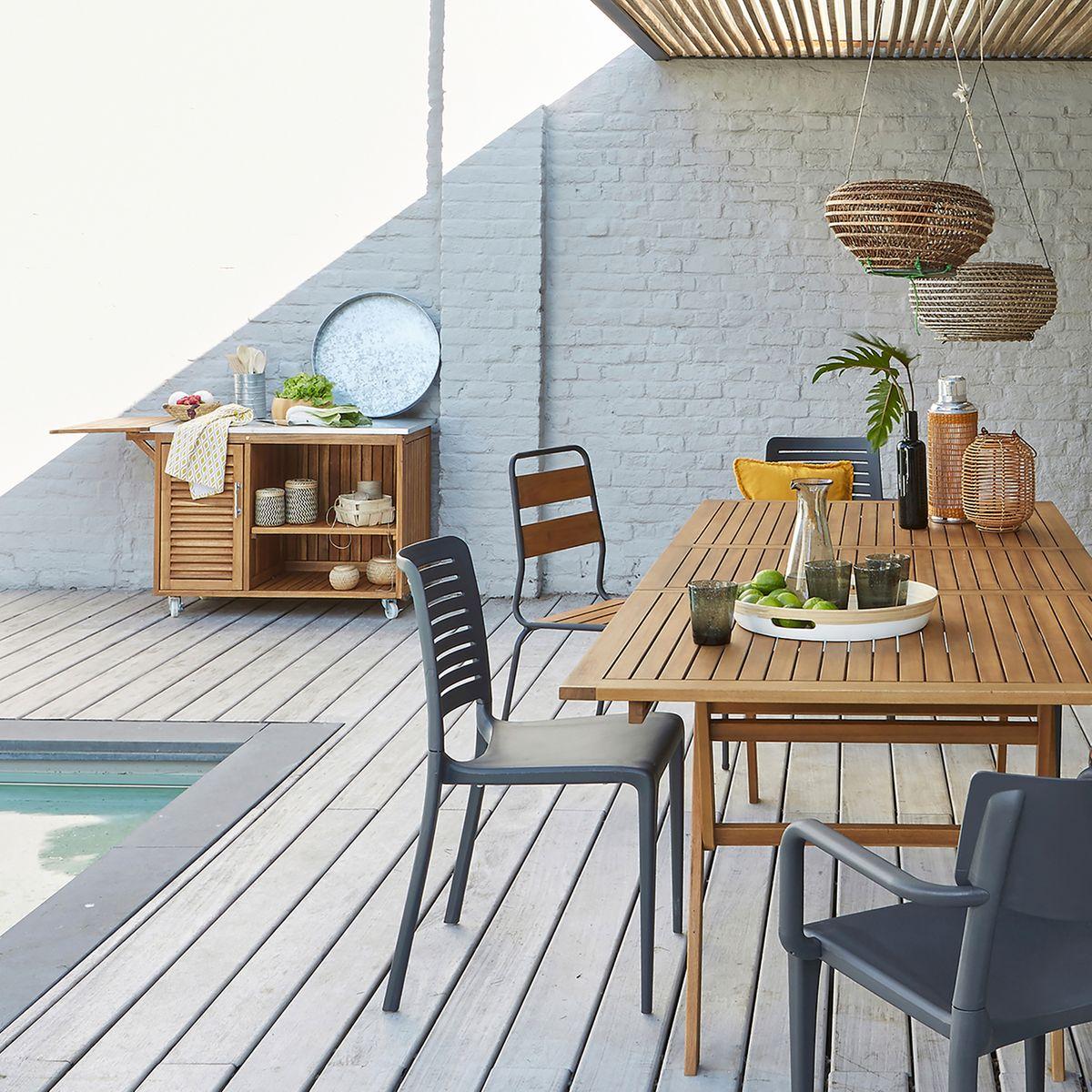 Evier Pour Cuisine D Été comment bien aménager sa cuisine d'été ? | madame décore