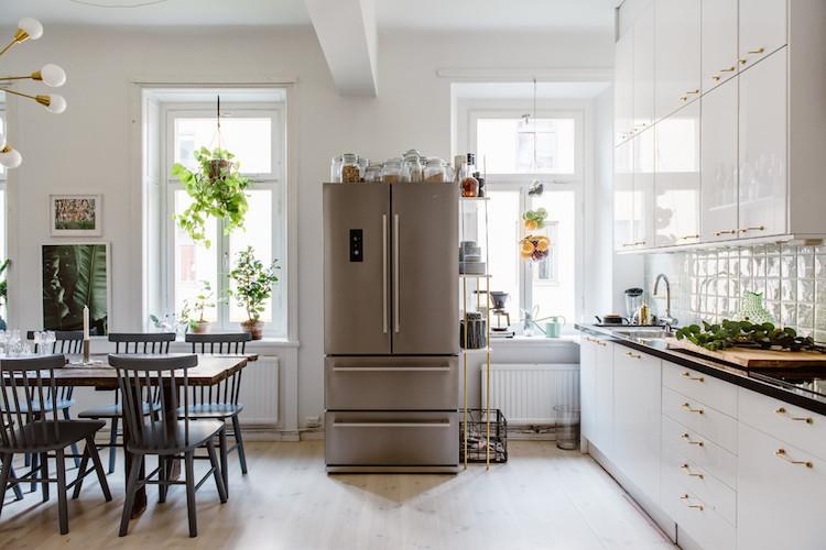 un appartement scandinave l 39 esprit boh me chic madame d core. Black Bedroom Furniture Sets. Home Design Ideas