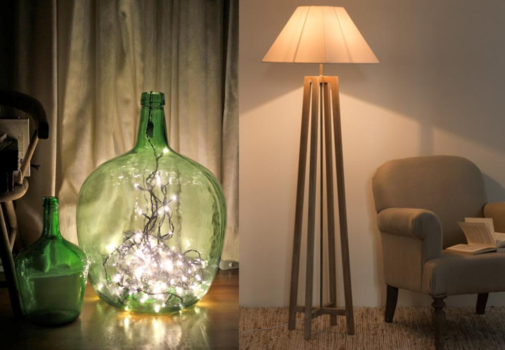 8 idées pour décorer son intérieur avec une guirlande lumineuse | Madame Décore