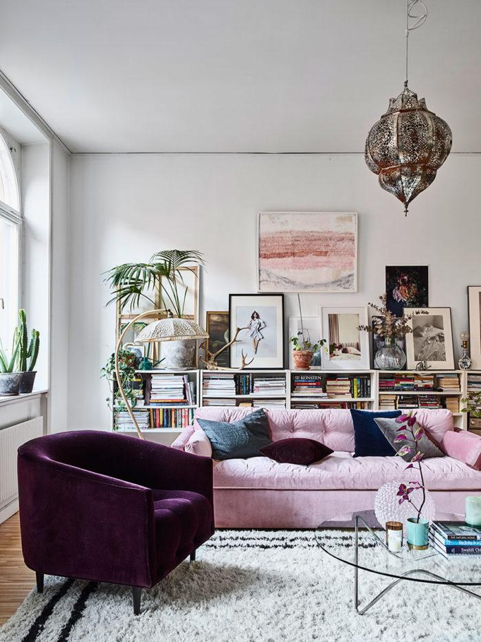 10 idées pour décorer le mur au-dessus du canapé | Madame Décore