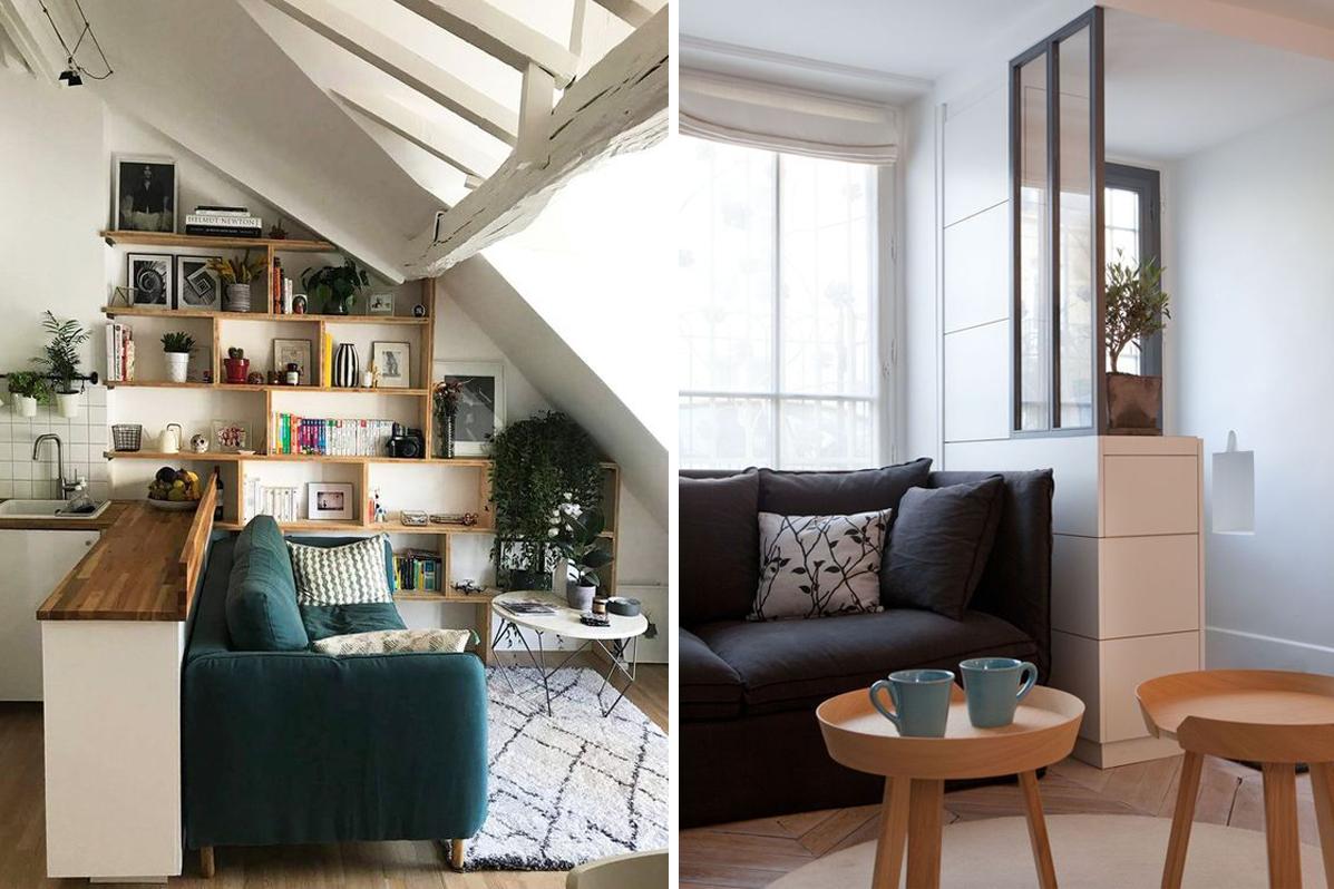 17 conseils de pro pour aménager un petit salon  Madame Décore