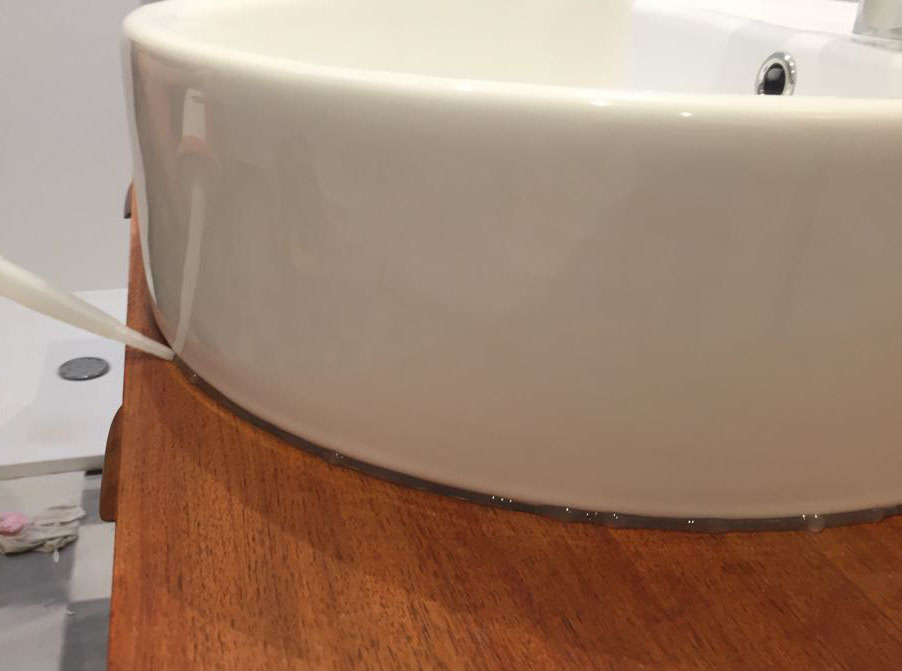 diy transformer une enfilade en meuble vasque madame d core. Black Bedroom Furniture Sets. Home Design Ideas