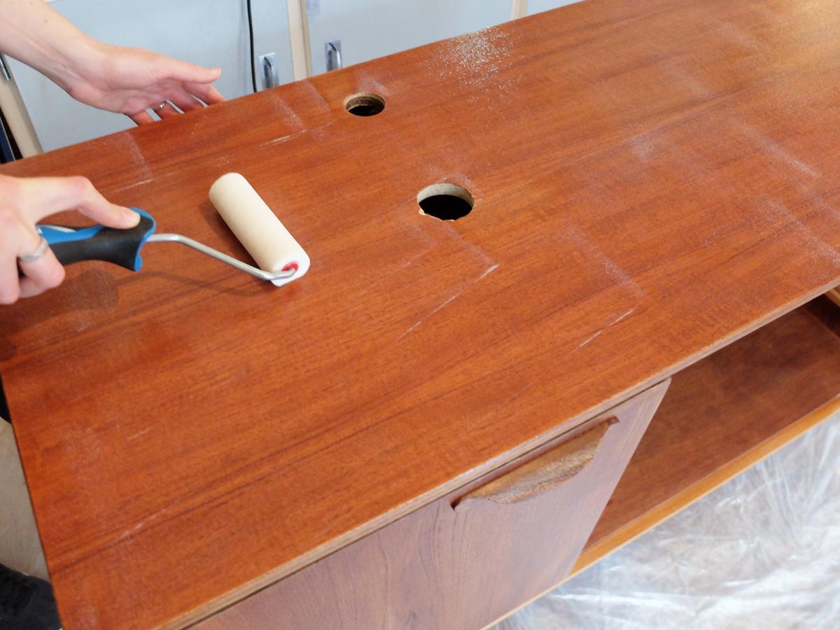 Diy Transformer Une Enfilade En Meuble Vasque Madame Decore