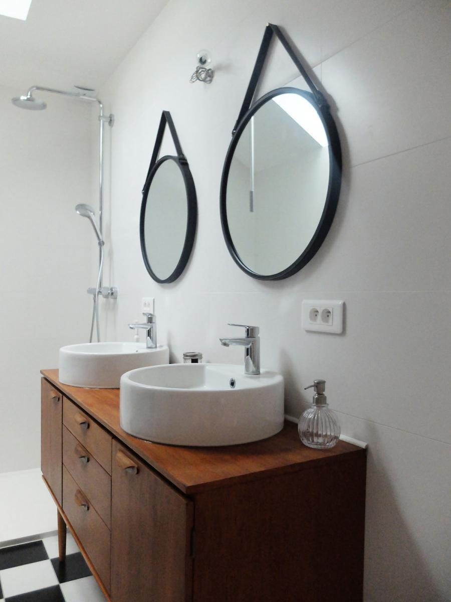 Affiche Ancienne Pour Salle De Bain diy : transformer une enfilade en meuble vasque | madame décore