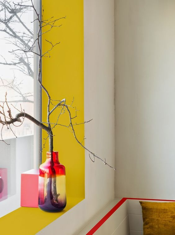 10 fa ons originales de peindre son int rieur madame d core. Black Bedroom Furniture Sets. Home Design Ideas