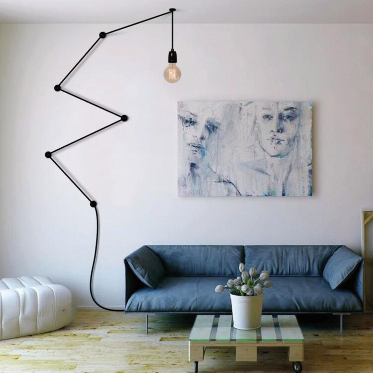 Comment Habiller Un Grand Mur De Salon 10 idées pour décorer le mur au-dessus du canapé | madame décore