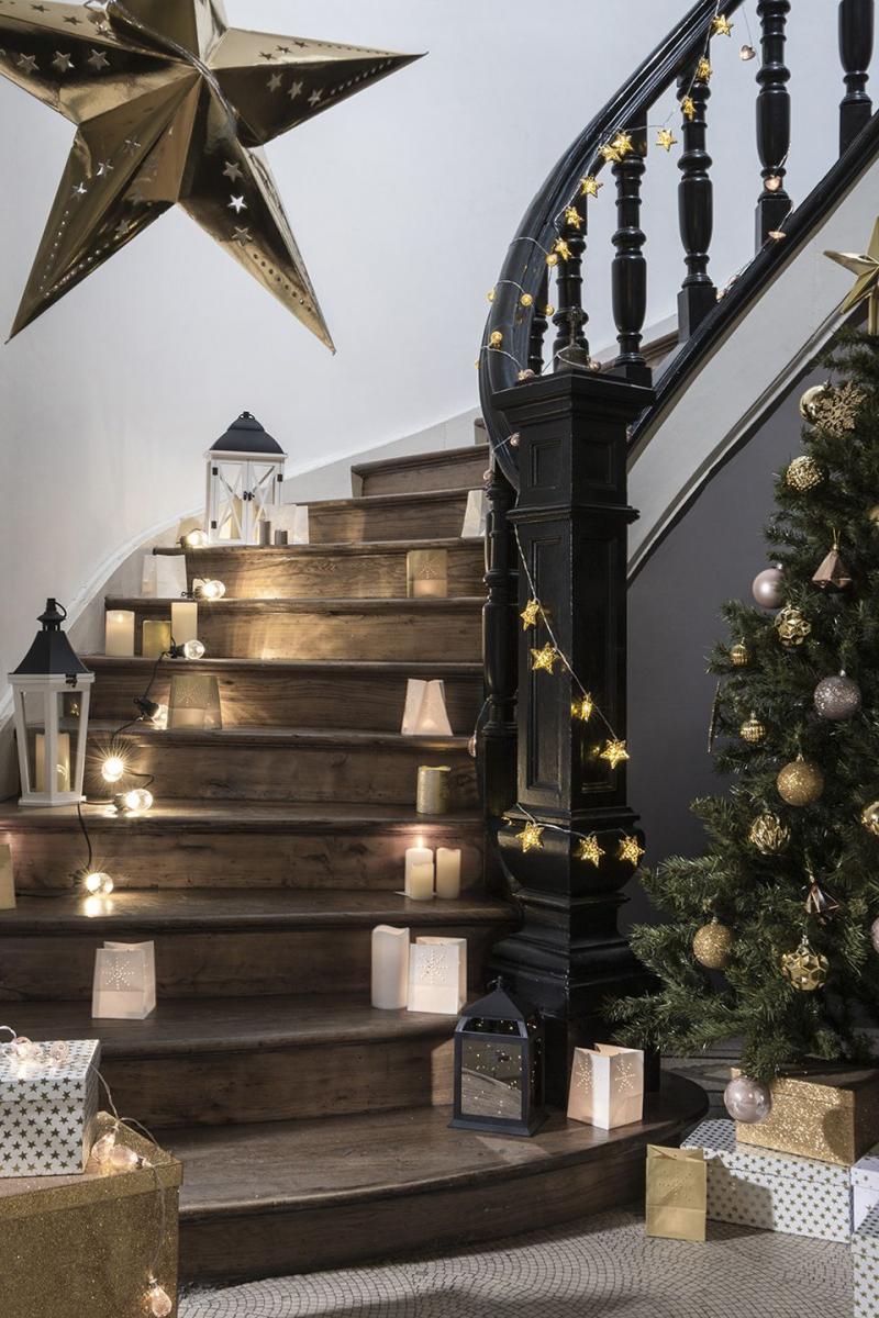 Habiller Un Poteau Interieur 5 idées déco pour rendre votre escalier unique à noël