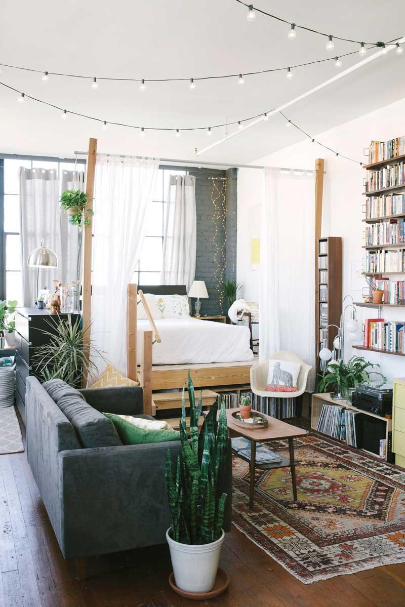 17 idées pour décorer son intérieur avec une guirlande lumineuse