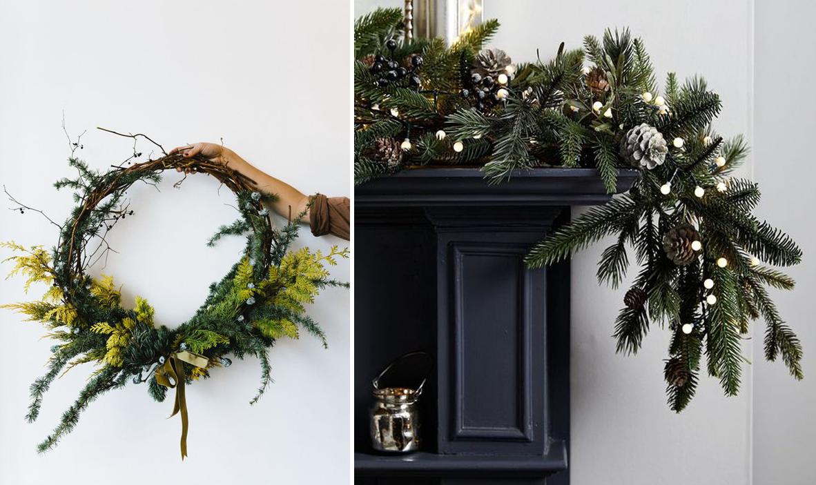 Comment Fixer Un Sapin De Noel avant / après : décorer sa cheminée pour noël avec les
