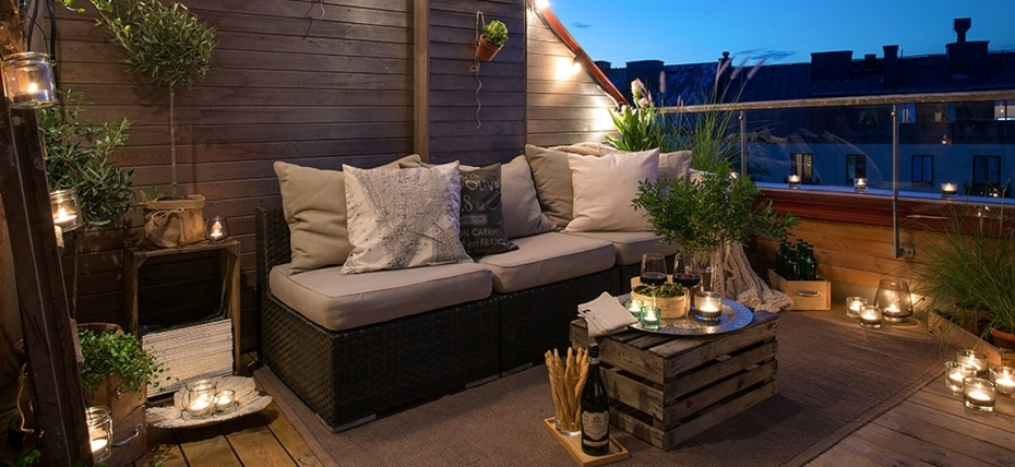 id es d co pour un balcon sous le signe de l 39 t madame d core. Black Bedroom Furniture Sets. Home Design Ideas