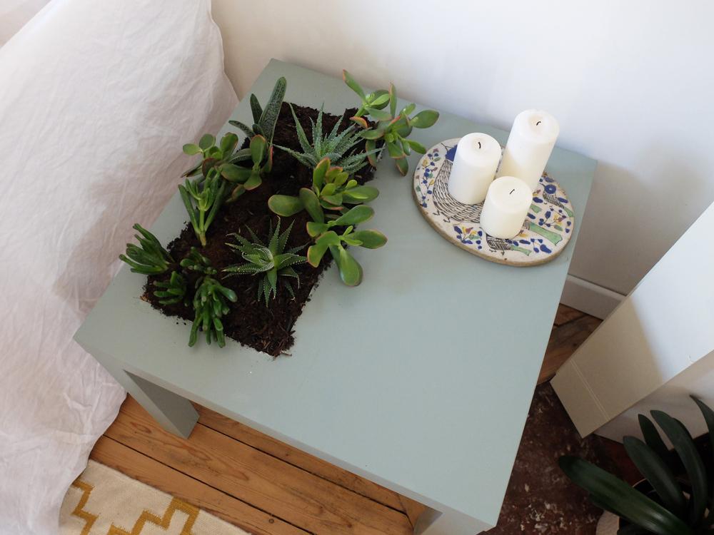 Ikea Hack Comment Transformer Une Table Lack En Jardiniere Madame Decore