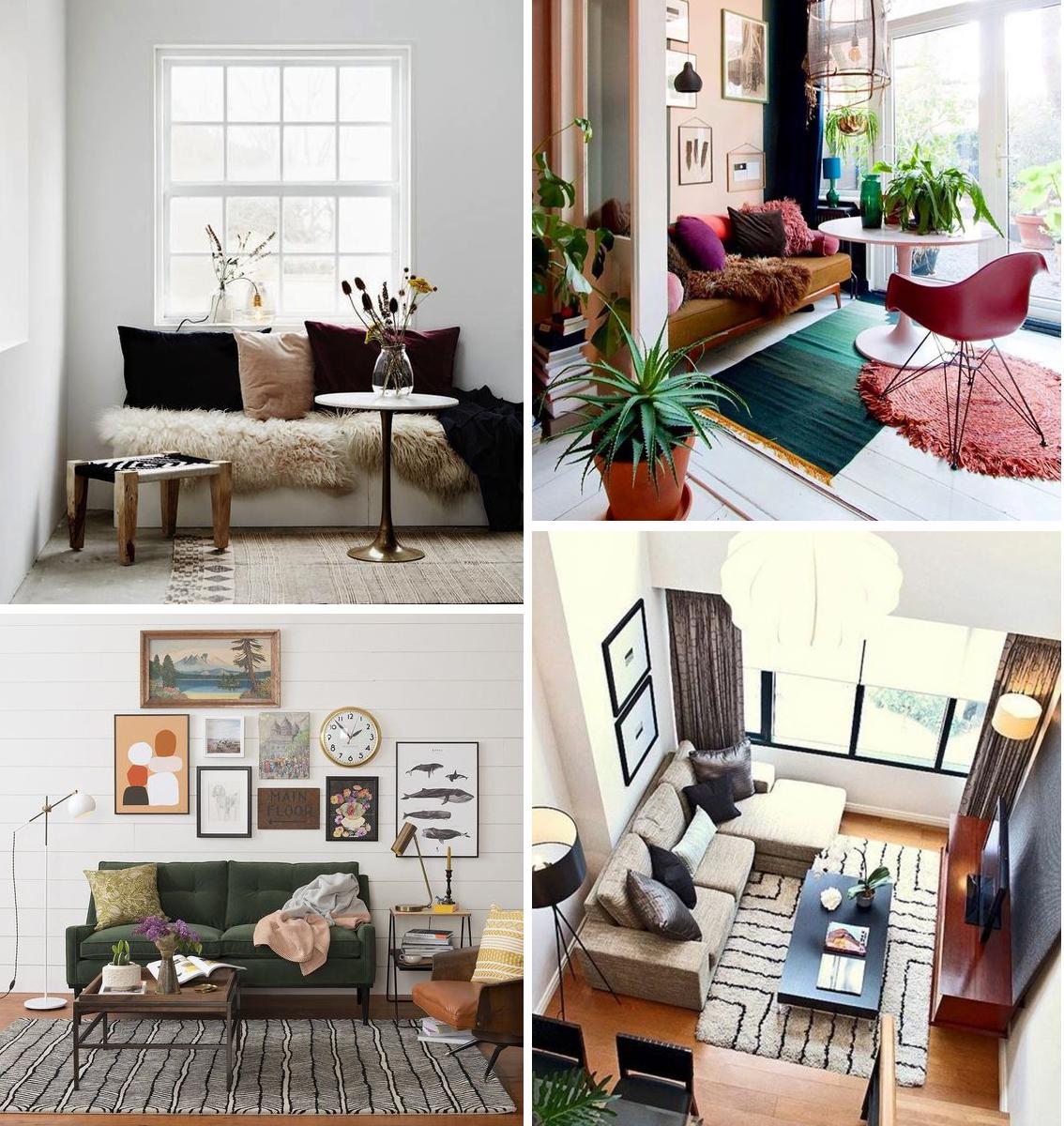 19 conseils de pro pour aménager un petit salon  Madame Décore