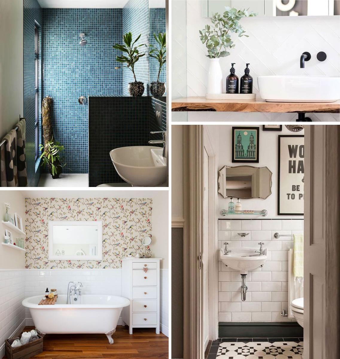 Affiche Ancienne Pour Salle De Bain mes idées pour aménager une petite salle de bain | madame décore