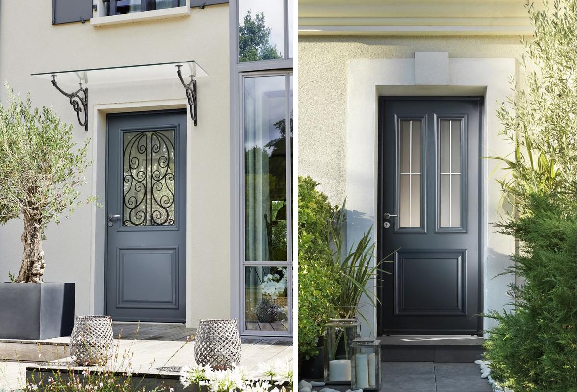 Où trouver une porte d\'entrée de style classique ? | Madame ...