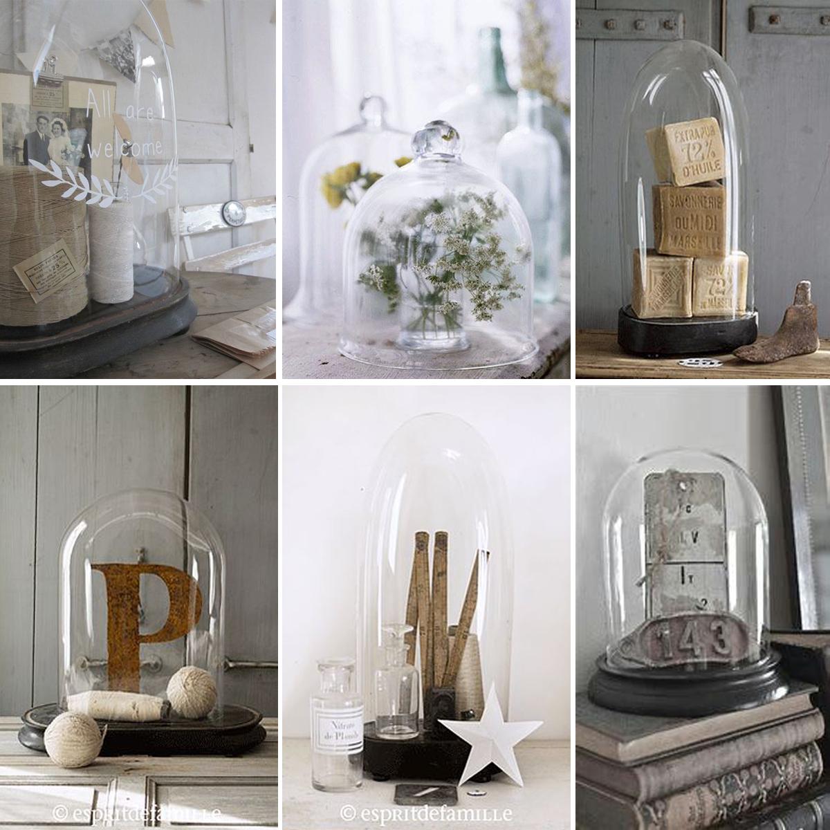 Que Mettre Sous Une Cloche En Verre inspiration : mettre en scène ses globes de mariée, vitrines