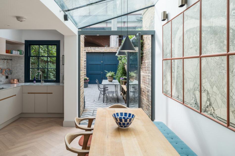 Une Petite Maison Londonienne Aux Accents Contemporains Madame Decore