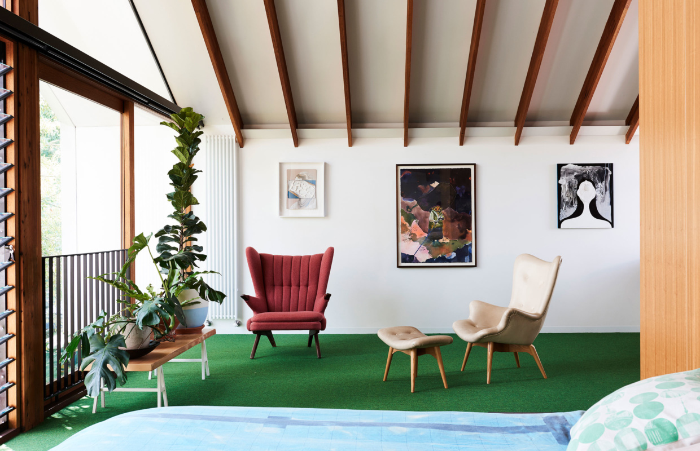 jeux d 39 ombres et de lumi res dans une maison d 39 architecte madame d core. Black Bedroom Furniture Sets. Home Design Ideas