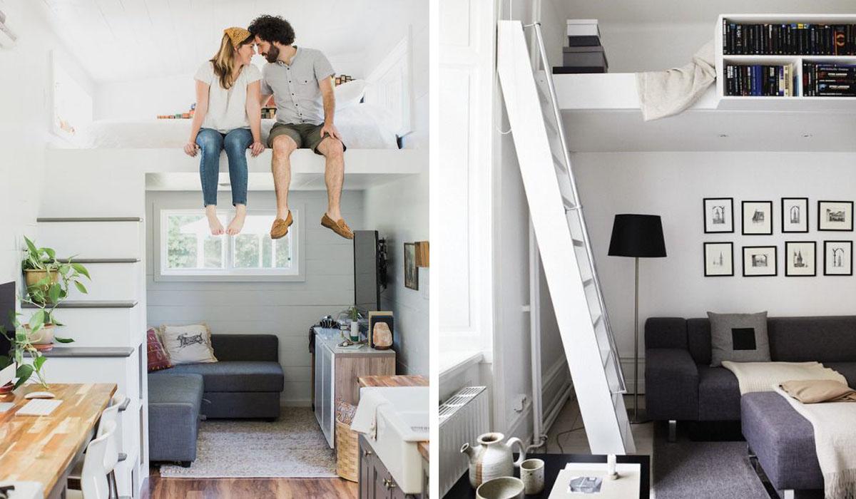 Aménagement Mezzanine Petit Espace comment meubler un petit espace ? | madame décore