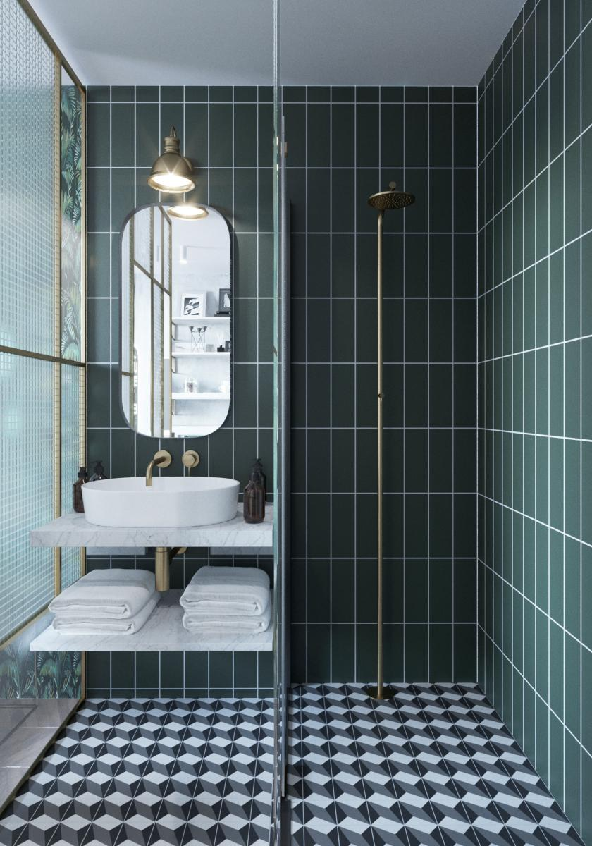 18 idées pour une salle de bain stylée  Madame Décore