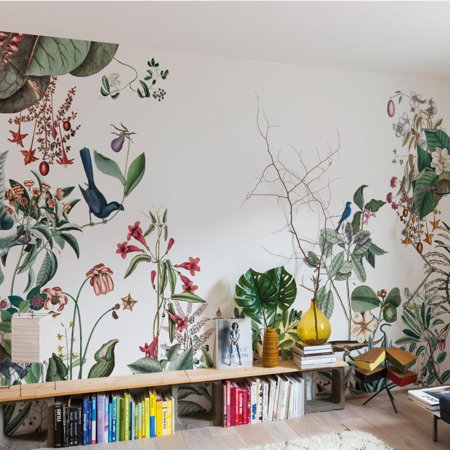 2 Couleurs Papier Peint Dans Une Chambre 10 papiers peints panoramiques pour styliser son intérieur