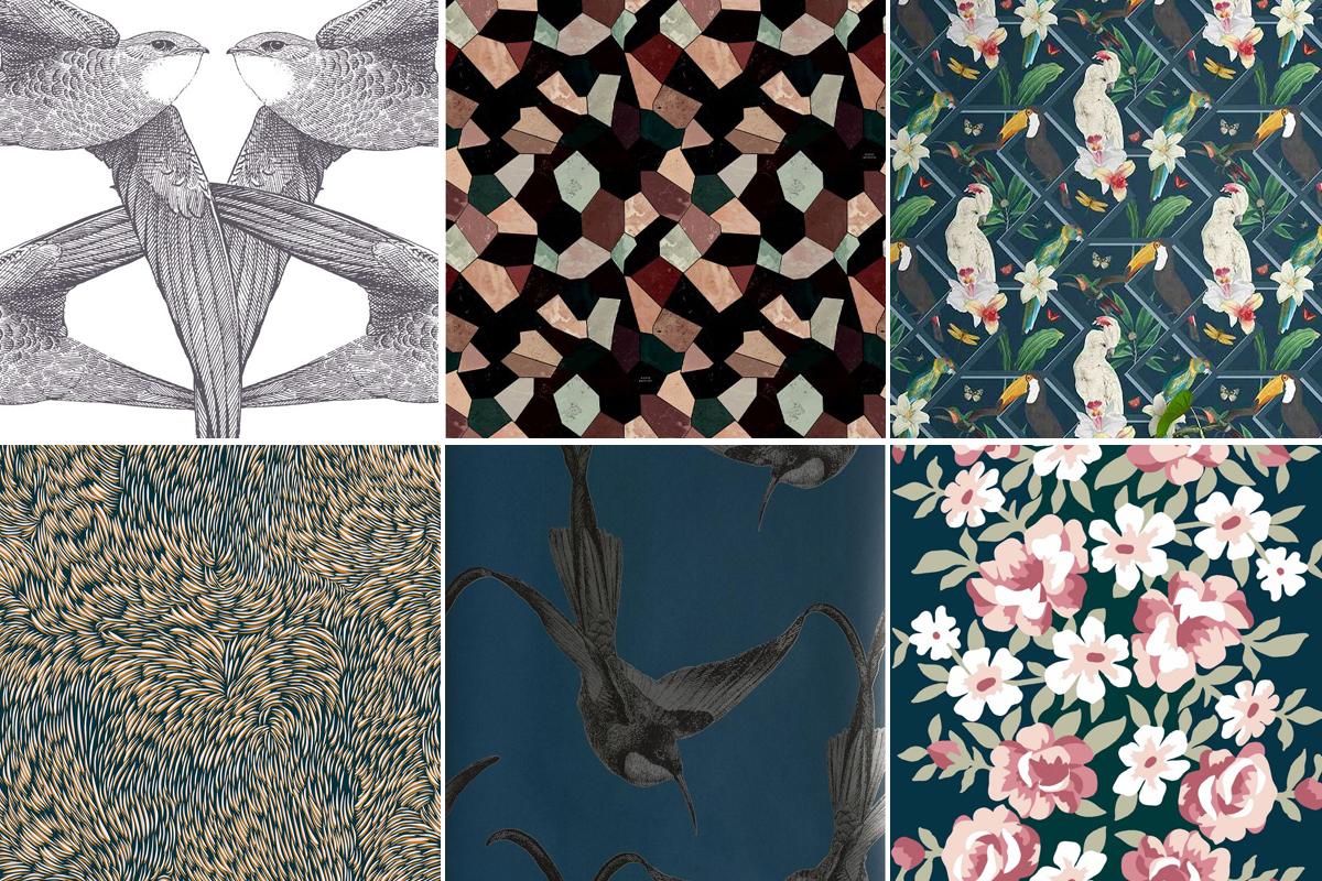 Papier Peint Deco Marine tendance papiers peints 2019 / 2020 | madame décore