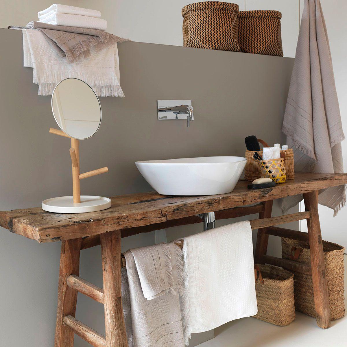 Petit Meuble Pour Salle De Bain mes idées pour aménager une petite salle de bain   madame décore