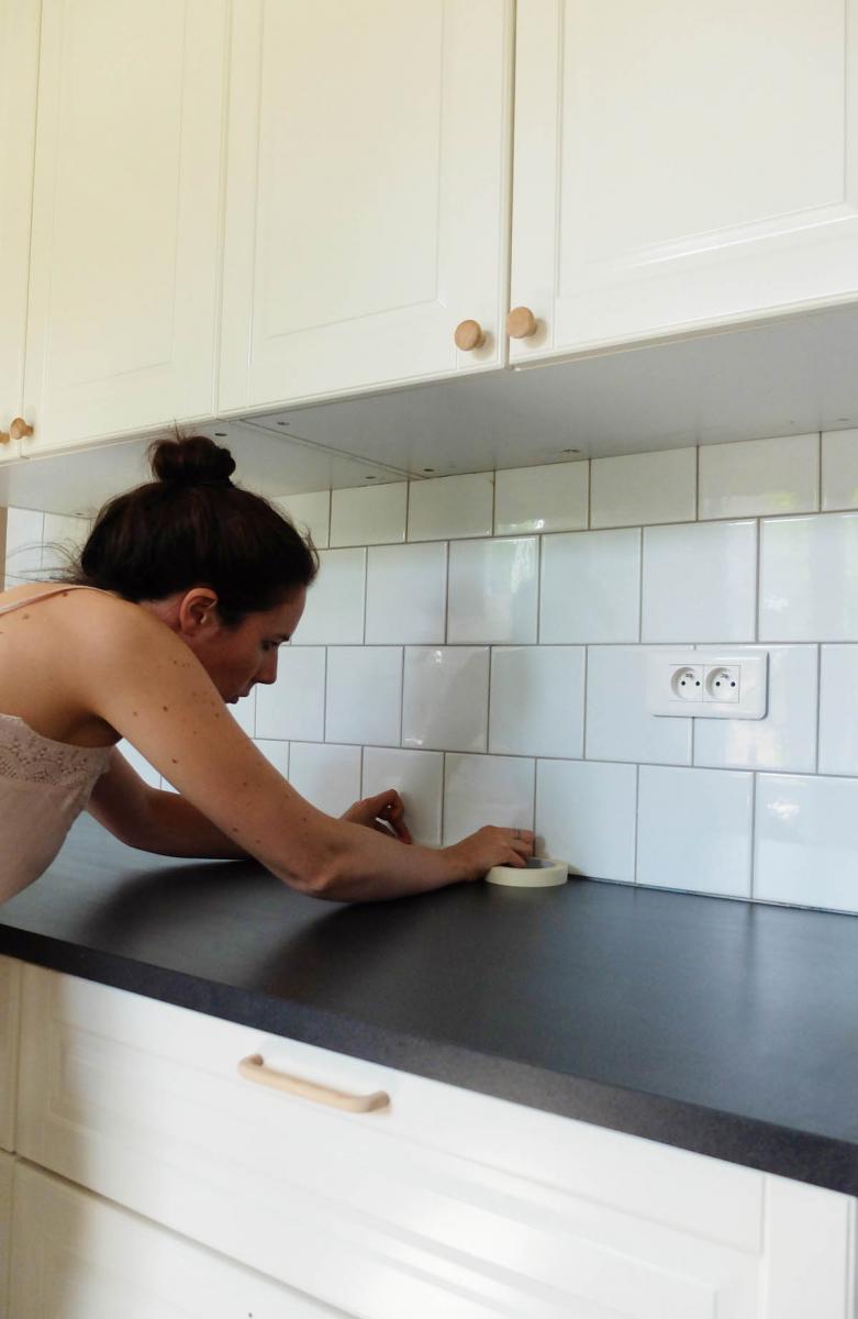 Cuisine Comment Renover Son Plan De Travail A Petit Prix