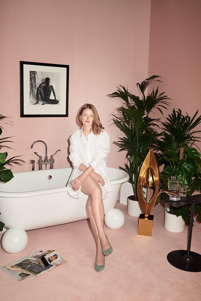 Inspiration : Je veux une salle de bain rose !   Madame Décore