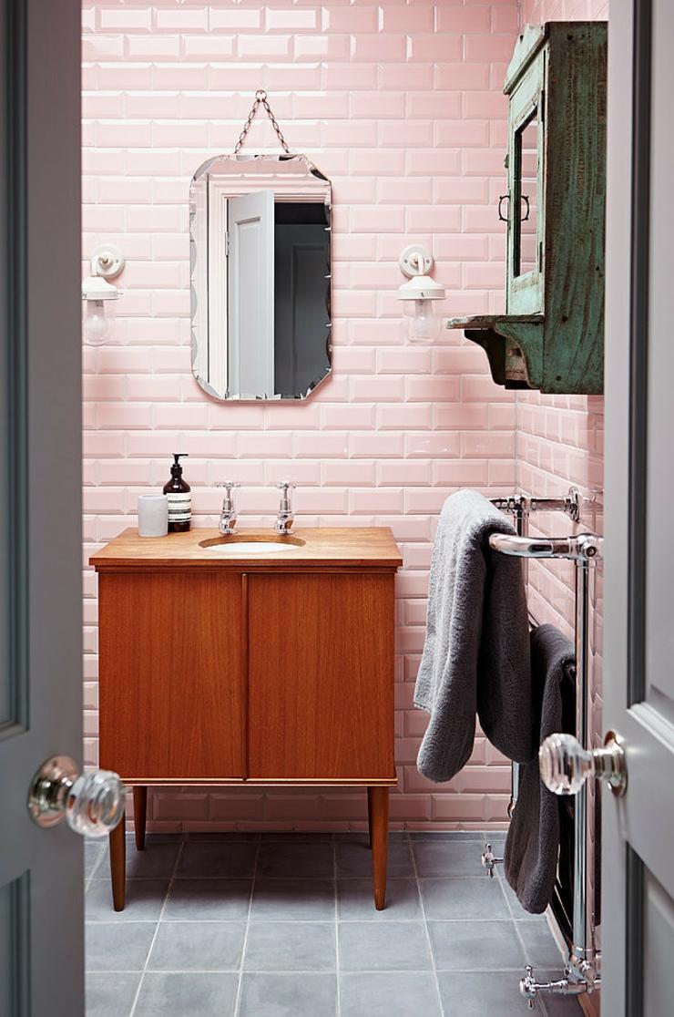 Inspiration je veux une salle de bain rose madame d core - Je decore salle de bain ...