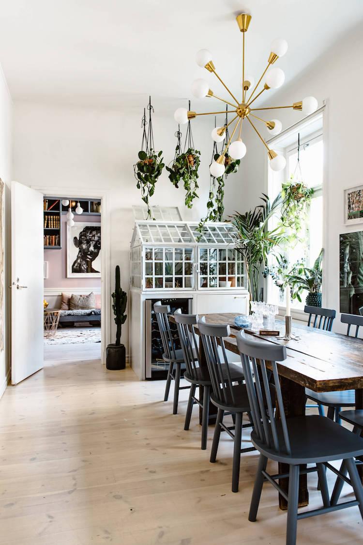 Un Appartement Scandinave à Lesprit Bohème Chic Madame Décore