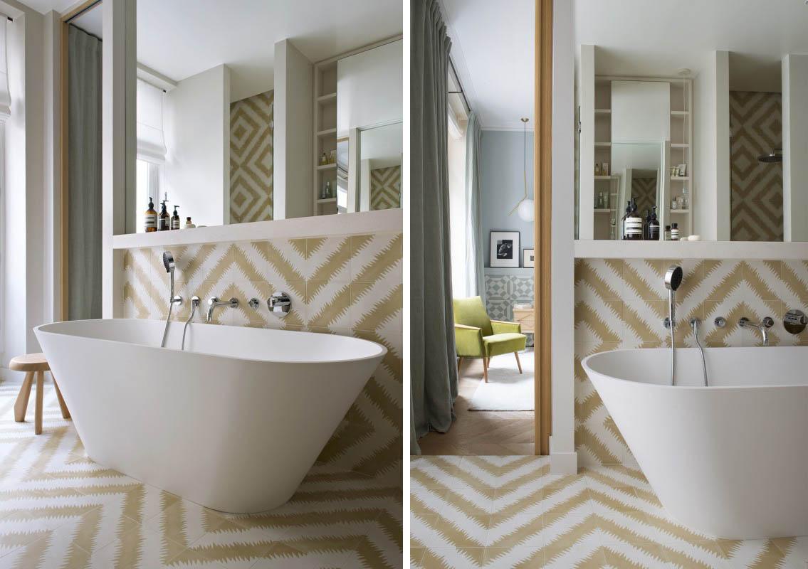 Salle De Bain Motif 10 idées pour une salle de bain stylée | madame décore