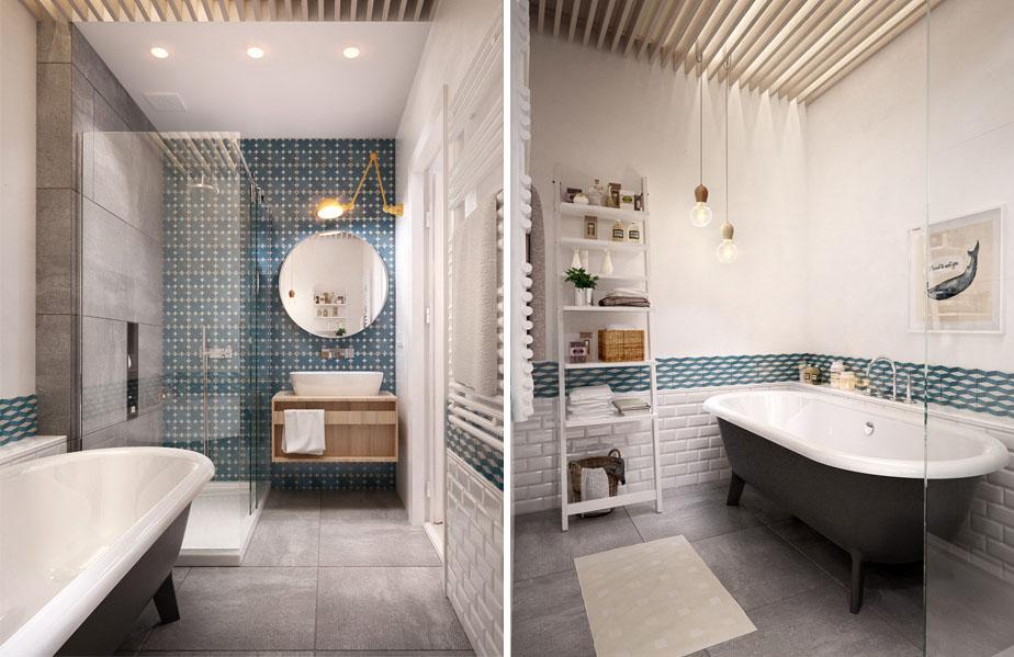 Une salle de bain pour les kids madame d core - Je decore salle de bain ...
