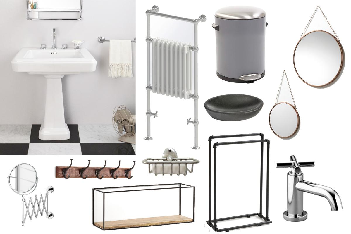 Salle De Bain Industrielle une ambiance industrielle dans la salle de bain | madame décore