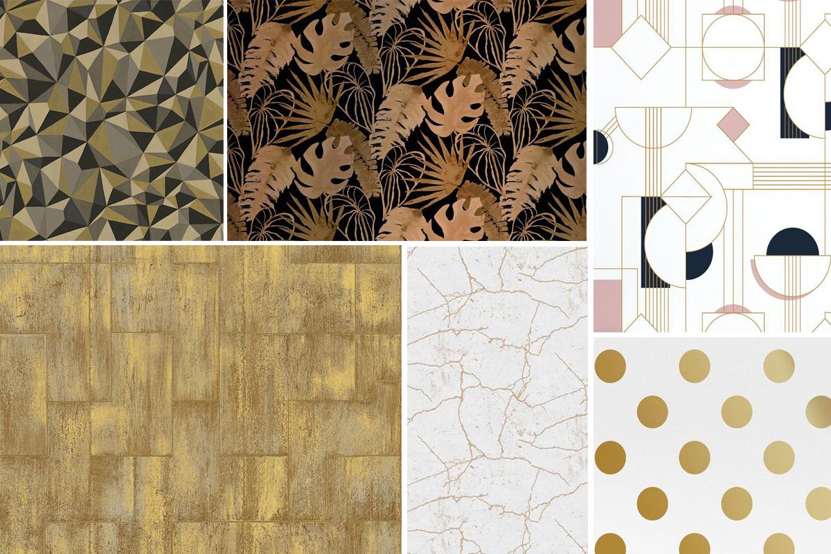 tendance papier peint quoi de neuf pour 2018 2019 madame d core. Black Bedroom Furniture Sets. Home Design Ideas