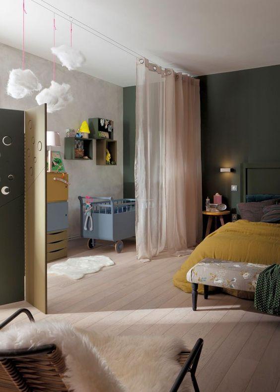 mes trucs et astuces pour s parer sans cloisonner madame d core. Black Bedroom Furniture Sets. Home Design Ideas